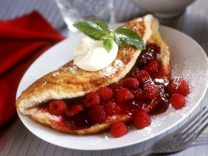 Himbeer-Pfannkuchen Rezept