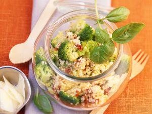 Hirsesalat mit Brokkoli Rezept