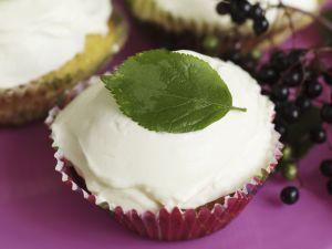 Holunderbeeren-Cupcakes Rezept