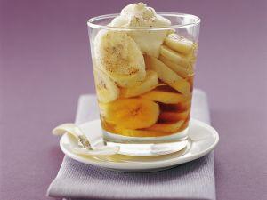Honig-Bananen Rezept
