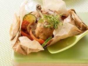 Hühnchen nach provenzalischer Art Rezept