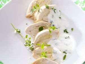 Hühnerbrust mit Kräuterjoghurt Rezept