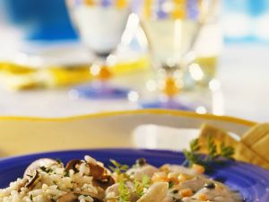 Hühnerfrikassee mit Reis Rezept