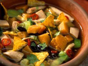 Hühnersuppe mit Gemüse Rezept