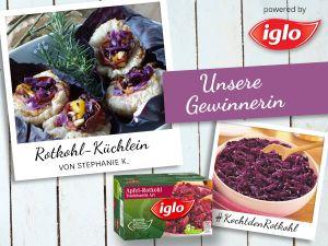 Das Gewinner-Rezept: Leckere Rotkohl-Küchlein