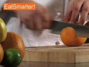 Wie Sie eine Orange gründlich schälen