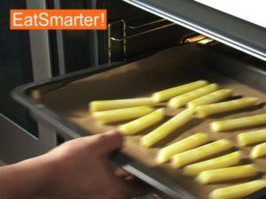 Wie Sie Pommes frites figurfreundlich im Backofen backen
