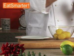 Wie Sie Salzkartoffeln richtig durch eine Presse drücken
