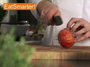 Wie Sie einen Granatapfel ganz einfach auspressen