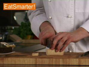 Wie Sie Tofu am besten in einer Grillpfanne braten