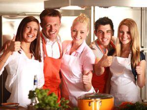 Gemeinsam kochen: Hier können Sie es probieren