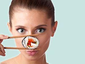 Sushi: wenig Kalorien, super gesund