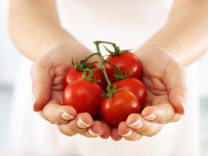 Farbstoff Lycopin macht Tomaten gesund