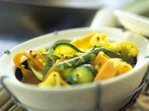 Indisch gewürztes Gemüse Rezept