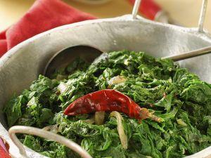 Indischer Spinat Rezept