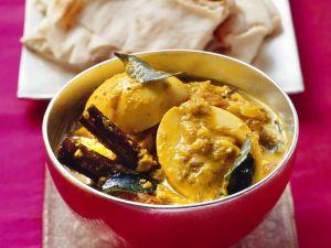 Indisches Curry mit Ei Rezept