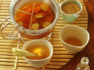 Ingwertee mit Zitronengras Rezept