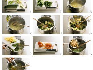 Italienische Gemüsesuppe Rezept