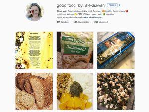 Folgen Sie mir auf Instagram