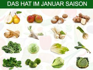 Was hat Saison im Januar?