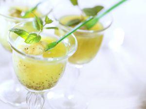 Joghurt-Kiwieis-Drink Rezept