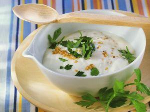 Joghurt-Knoblauchsauce Rezept