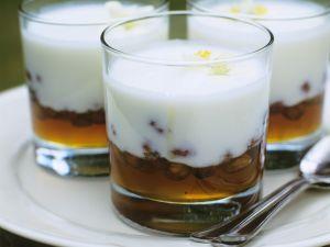 Joghurt mit Honig und Nüssen Rezept