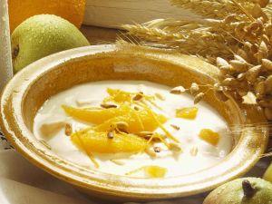 Joghurt mit Orangen Rezept