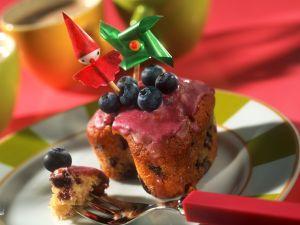 Joghurt-Muffins mit Heidelbeeren Rezept