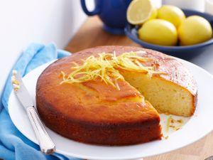 Joghurtkuchen mit Zitrone Rezept