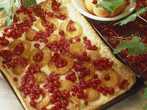 Johannisbeer-Aprikosen-Tarte Rezept