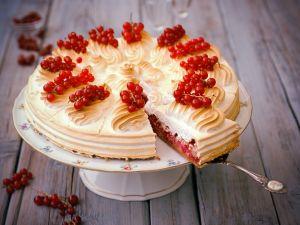 Johannisbeer-Baiser-Torte Rezept
