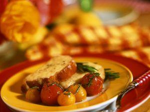 Käse-Bruschetta mit Tomaten Rezept