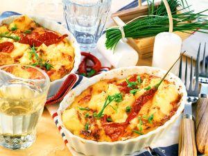 Käse-Gemüseauflauf Rezept