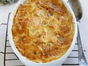 Käse-Kartoffel-Auflauf Rezept