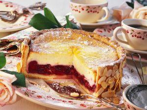 Käse-Kirsch-Torte Rezept