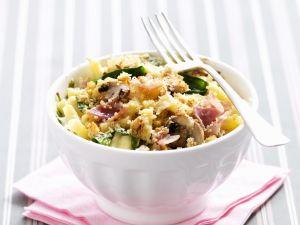Käse-Makkaroni mit Gemüse Rezept