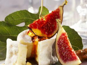 Käse mit Feigen und Honig Rezept