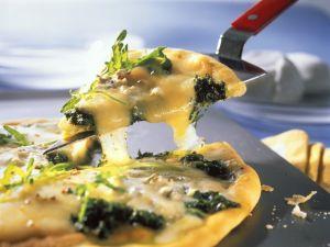 Käse-Pizza Rezept