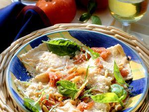 Käse-Ravioli Rezept