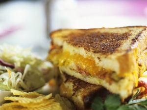 Käse-Sandwich Rezept