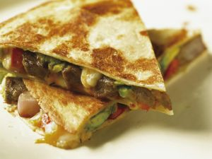 Käse-Tortilla mit Rind Rezept