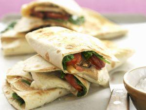 Käse-Tortillas Rezept