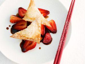 Käse Wan Tans Rezept