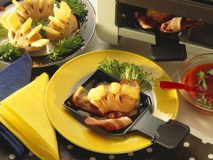 Käse-Wurst-Raclette Rezept