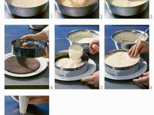 Käsesahnetorte zubereiten Rezept