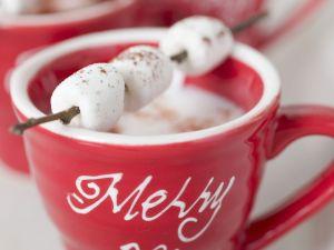 Kakao mit Marshmellows Rezept
