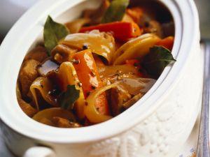 Kalbfleisch-Gemüseragout Rezept