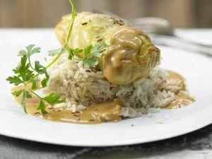Kalbfleisch-Kohlrouladen – smarter Rezept