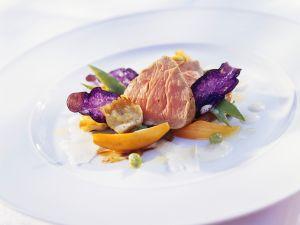 Kalbfleisch mit Gemüse Rezept
